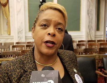 Councilwoman Cindy Bass (Tom MacDonald/WHYY)