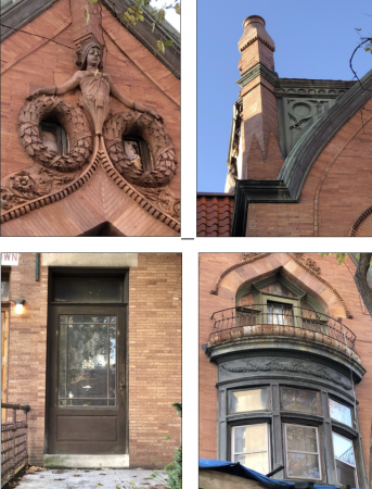 Details of 3922 Spruce Street (Corey Loftus)
