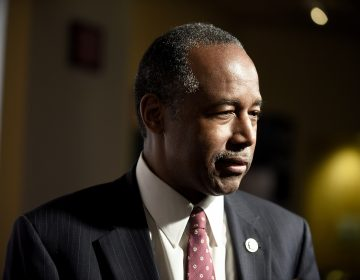 Housing and Urban Development Secretary Ben Carson said the country's leaders should be focused on federal workers affected by the shutdown and not