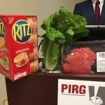 Ritz crackers, romaine lettuce, and beef were all recalled in 2018. (Dana Bate/WHYY)