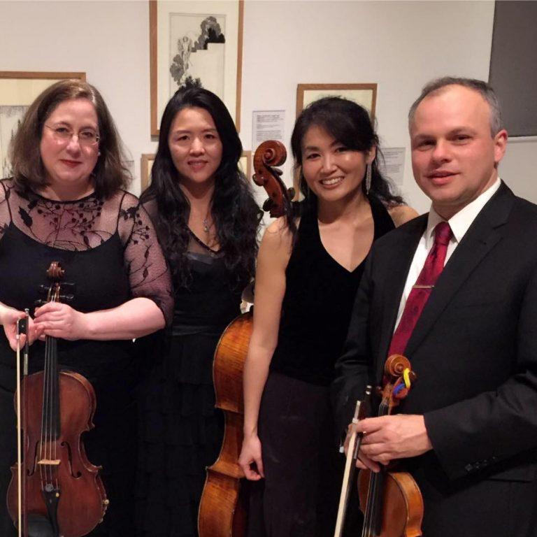 Delaware Art Museum's resident chamber ensemble, the Pyxis Piano Quartet, opens the museum's performance series. (Pyxis Piano Quartet/Facebook photo)