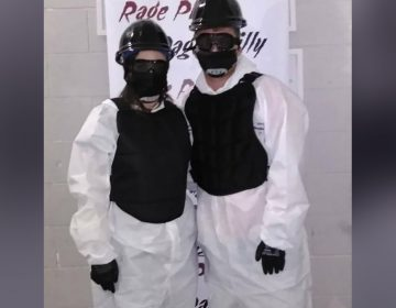 The rage room is designed to help people cleanse themselves of frustrations. (courtesy of Rage Room Philadelphia)