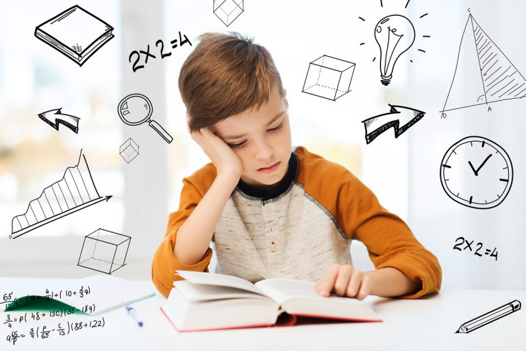A student is struggling with his math homework. (dolgachov/BIGSTOCK)