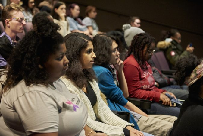 Temple University students are invited to attend Scott Fried's educational program at the Reel, in the Temple Student Center. (Natalie Piserchio for WHYY)