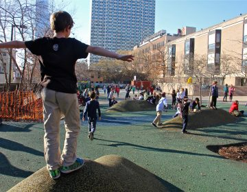 Greenfield Elementary School playground. (Emma Lee/WHYY)