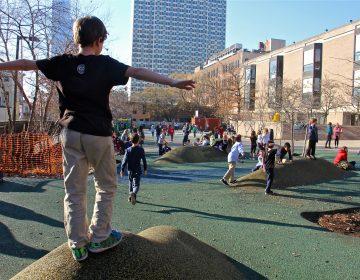Greenfield Elementary School playground. (Emma Lee/WHYY)