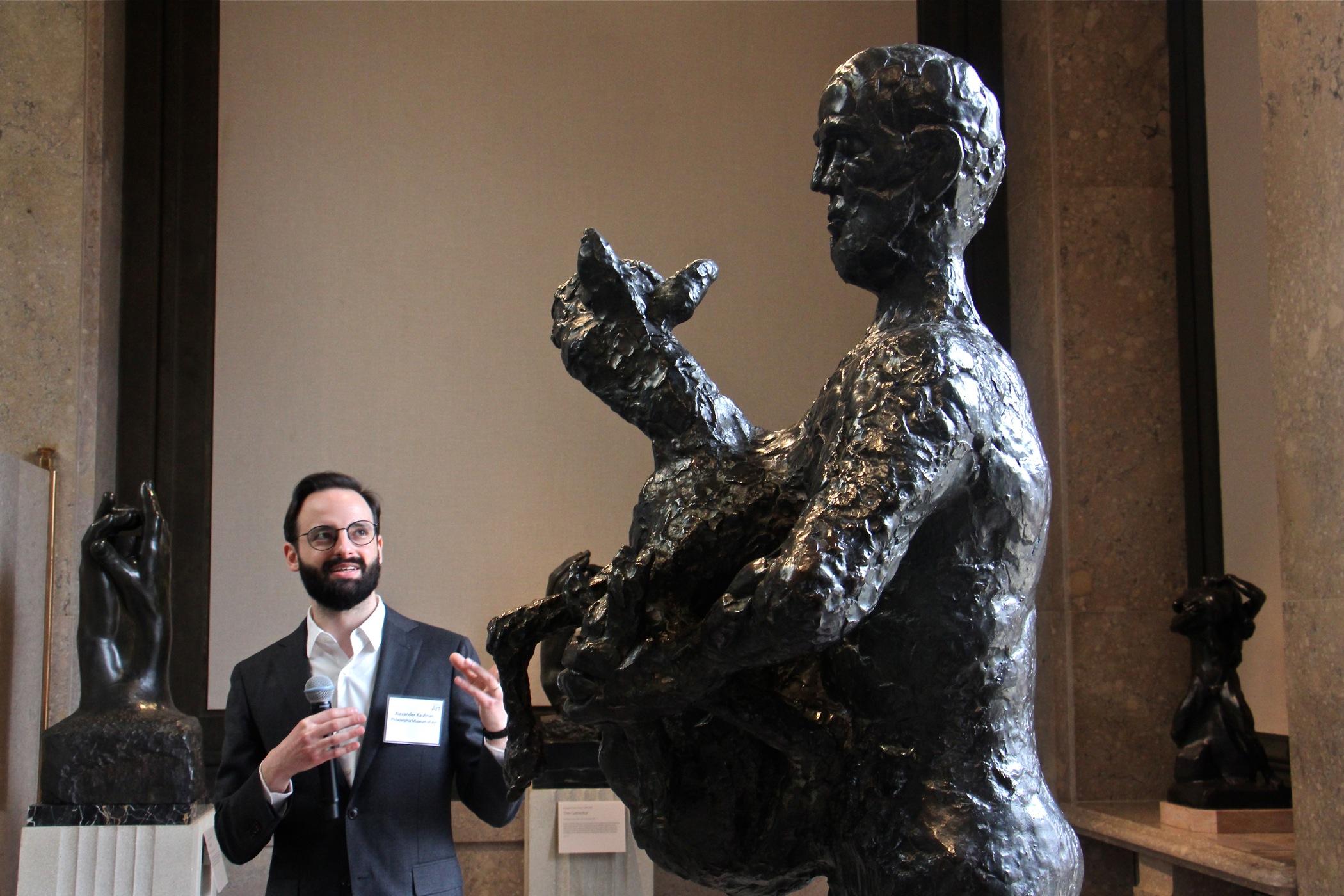 Rodin S Radical Public Monuments On Display In Philadelphia Whyy