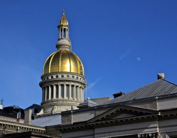 New Jersey Statehouse in Trenton. (Emma Lee/WHYY)