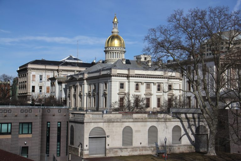 New Jersey Statehouse in Trenton.