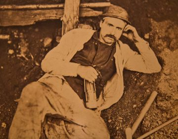 A French portrait from an unknown photographer from 1860. (Kimberly Paynter/WHYY)