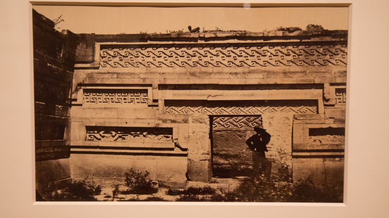 Desire Charnay's photographs of the Grand Palace of Mitla in Mexico, 1860.  (Kimberly Paynter/WHYY)