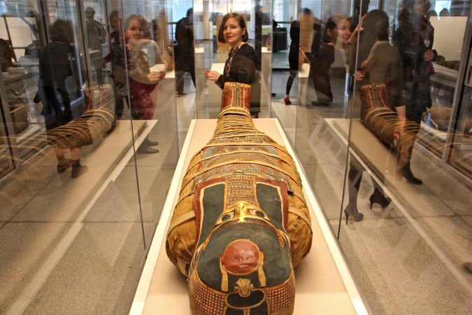 The mummy of an anonymous woman takes center stage in the Penn Museum's new exhibit,