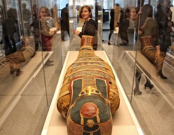 The mummy of an anonymous female takes center stage in the Penn Museum's new exhibit,