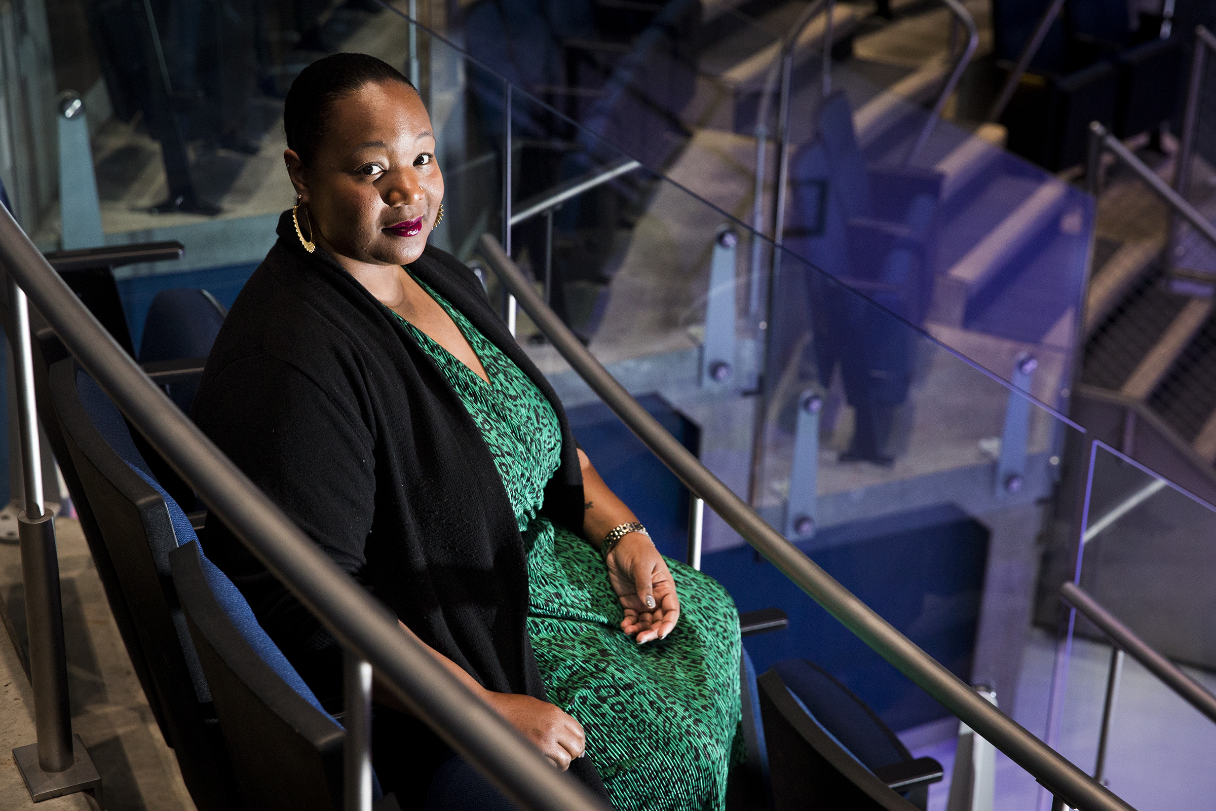 Maori Karmael Holmes, founder and executive director of BlackStar Film Festival