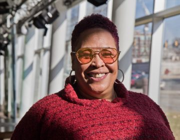 Lady Alma is a Philadelphia-based, house music singer whose career is restarting after an international viral video. (Kimberly Paynter/WHYY)