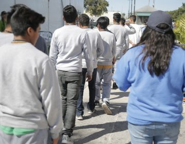 Nearly 1,600 teenage migrants are housed at a temporary emergency shelter in Florida run by a for-profit company. (U.S. Department of Health and Human Services)