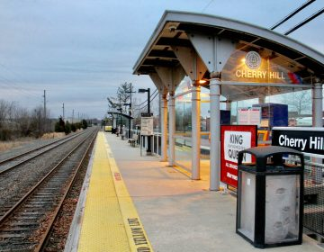 New Jersey Transit and Department of Transportation officials say the Atlantic City rail line will be reopened by May 12. (Emma Lee/WHYY)