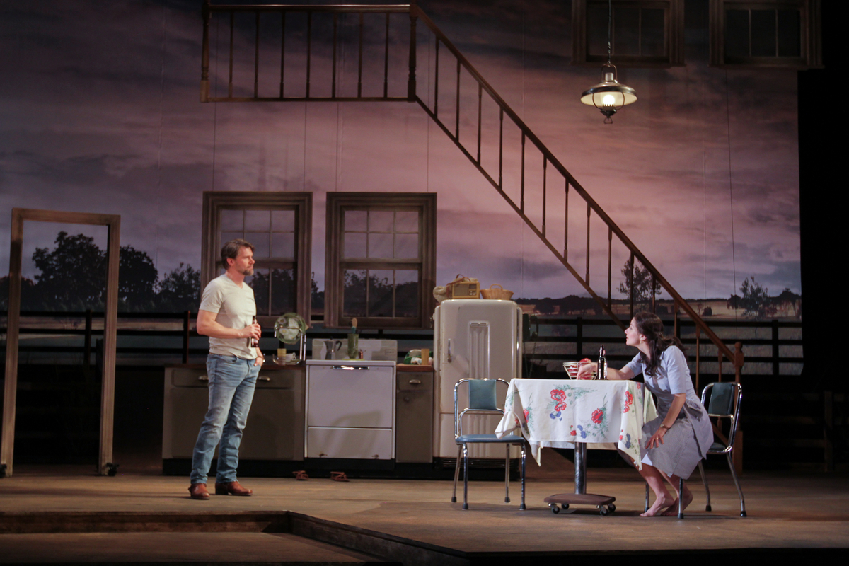 A sentimental journey over 'The Bridges of Madison County' at Philadelphia Theatre Company