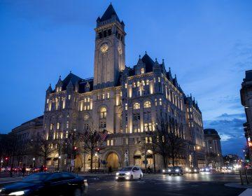 The Trump International Hotel near sunset Wednesday, Jan. 23, 2019, in Washington. (Alex Brandon/AP Photo)