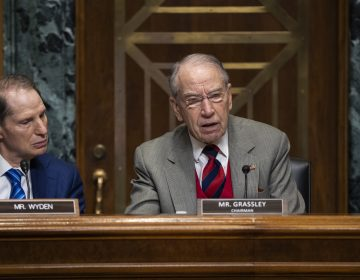 Sen. Chuck Grassley, R-Iowa, (center), chairman of the Senate Finance Committee, is joined at left by Sen. Ron Wyden, D-Ore., the ranking member, at a hearing on the high price of prescription drugs, on Capitol Hill in Washington, Tuesday, Jan. 29, 2019. (J. Scott Applewhite/AP Photo)