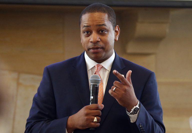 A California woman has accused Virgina Lt. Governor Justin Fairfax of sexually assaulting her 15 years ago, saying in a statement Wednesday, Feb. 6, 2019, that she repressed the memory for years but came forward in part because of the possibility that Fairfax could succeed a scandal-mired governor. (Steve Helber/AP Photo)