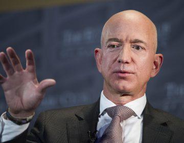 In this Sept. 13, 2018, file photo Jeff Bezos, Amazon founder and CEO, speaks at The Economic Club of Washington's Milestone Celebration in Washington. (Cliff Owen/AP Photo, File)