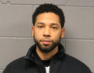 This Feb. 21, 2019 photo released by the Chicago Police Department shows Jussie Smollett. Police say the
