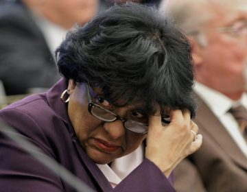Philadelphia City Councilwoman Jannie Blackwell. (Emma Lee/WHYY)