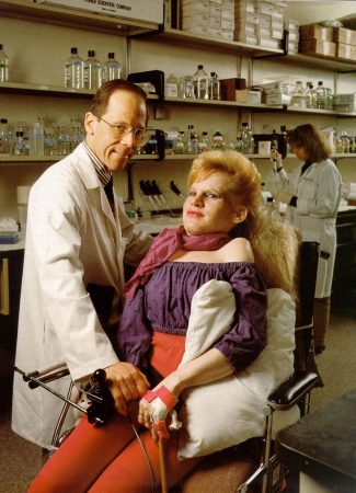 Carol Orzel and her doctor, Frederick Kaplan (Provided)