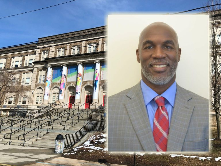 Dorrell Green is the new superintendent of Red Clay Consolidated School District, the largest in Delaware. One of his challenges will be improving student proficiency at Warner Elementary School. (State of Delaware, Cris Barrish/WHYY)