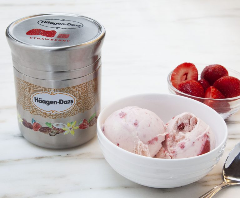A new initiative through TerraCycle will bring products like Haagen Dazs to local stores in reusable packaging (Provided)