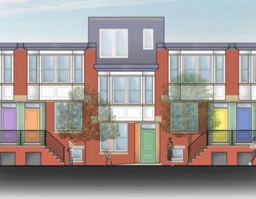 A rendering of future affordable housing in Point Breeze (Women's Community Revitalization Project)