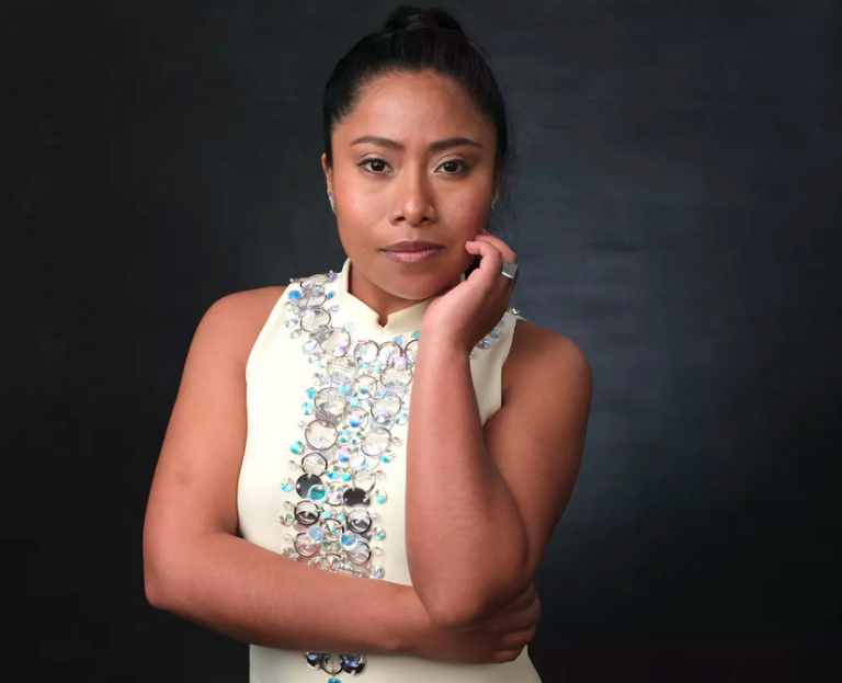Mexican actress Yalitza Aparicio was nominated for best actress for her role in 'Roma.' (Chris Pizzello/Invision/AP)