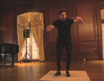 Tap dancer Leo Manzari (Kimberly Paynter/WHYY)