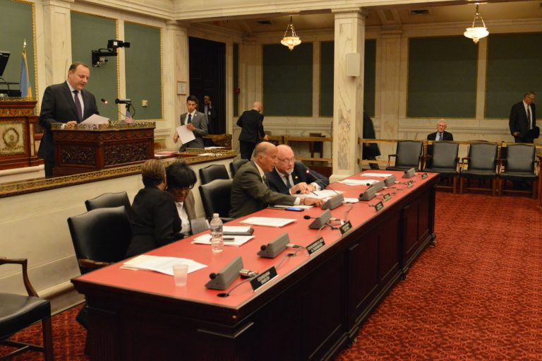 Members of a Philadelphia City Council Committee have approved an expansion of the Longtime Owner Occupants Program (Tom MacDonald/WHYY)
