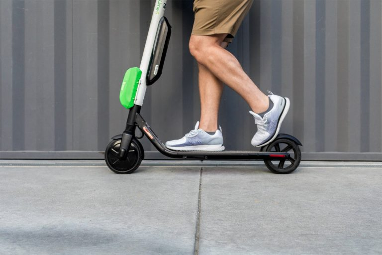 Lime is applying for permits to bring its e-scooters to Philadelphia's streets. (Courtesy of Lime)