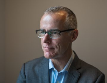 Andrew McCabe talked about his new memoir with NPR's Morning Edition. (Amr Alfiky/NPR)