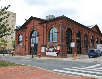 The FringeArts Building at Race Street and Columbus Boulevard. (Kimberly Paynter/WHYY)