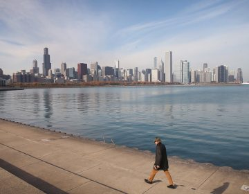 The crisis of water affordability is especially acute where you might not expect it: In cities like Chicago, which overlooks the abundant fresh water of Lake Michigan. (Scott Olson/Getty Images)