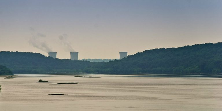 Three Mile Island nuclear power plant. (Joanne Cassaro/WITF)