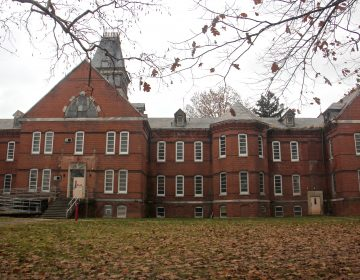 Building 5 on the grounds of Norristown State Hospital. (Emma Lee/WHYY)