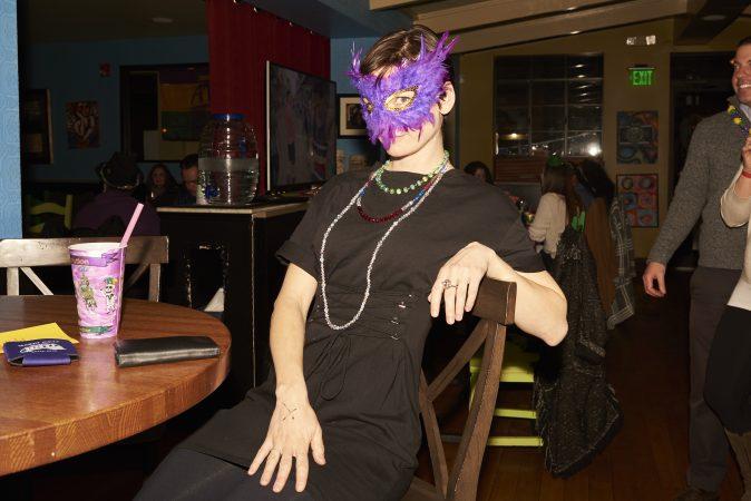 Julie K Sanders moved to Philadelphia from New Orleans seven years ago. (Natalie Piserchio for WHYY)