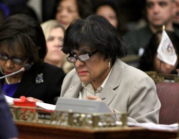 Philadelphia City Council member Jannie Blackwell. (Emma Lee/WHYY)