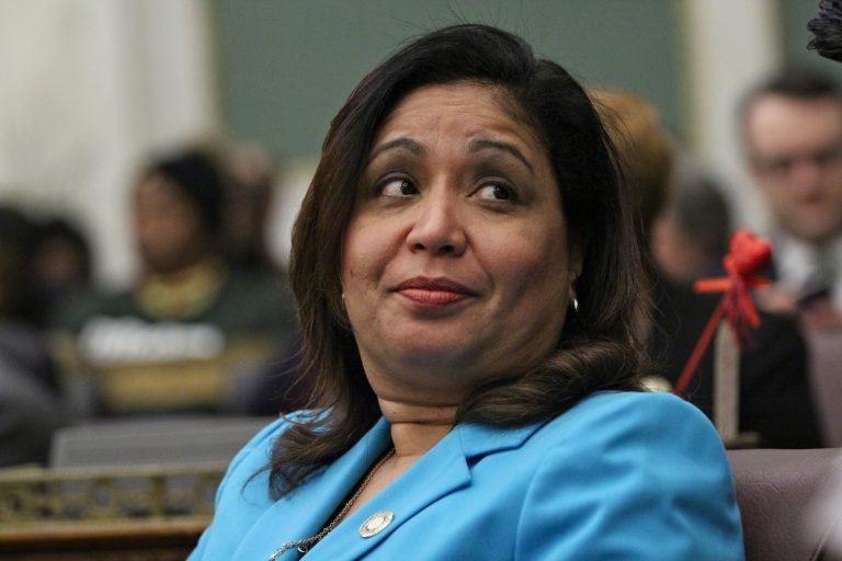 Philadelphia City Council member Maria Quiñones-Sánchez. (Emma Lee/WHYY)