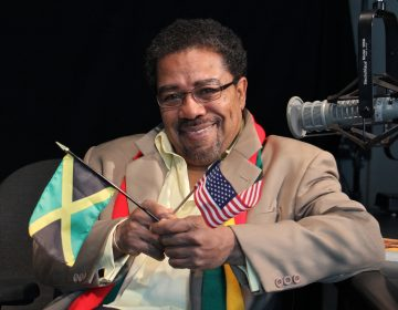 "Terry Lee Barrett hosted ""Caribbean Rhythms"" on WRTI FM, from 1987 to 1995. (Emma Lee/WHYY)"
