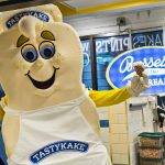 Tastykake and Bassetts Ice Cream teamed up to create a cookie inspired milkshake. (Kimberly Paynter/WHYY)