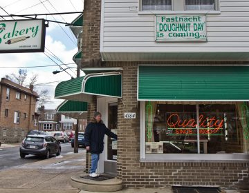 Haegele's Bakery in Philly's Mayfair neighborhood. (Kimberly Paynter/WHYY)