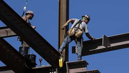 A bill package moving rapidly through the legislature aims to get Pennsylvanians into higher-paying skilled industries, like construction. But some economists suggest lawmakers need to do more if they want to improve the labor market. (Matt Rourke/AP Photo)