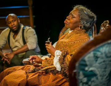 Akeem Davis and Zuhairah in Arden Theatre Company's  production of
