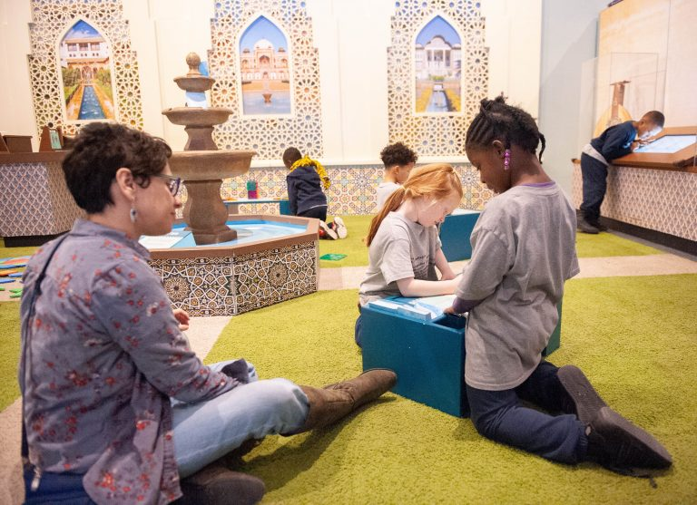 The Please Touch Museum's latest exhibition, America to Zanzibar is designed to educate children about Muslim culture (Provided)